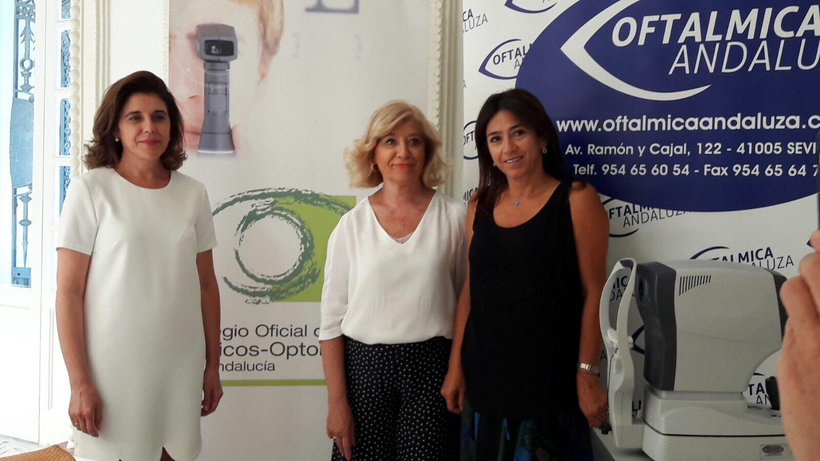 Representantes del COOOA acuden a la la I Semana de la Salud y la Nutrición